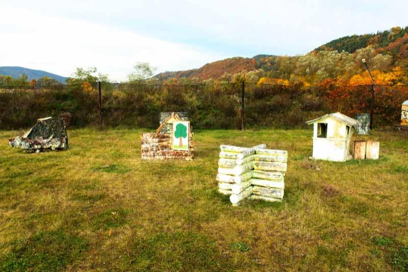 Impressionen: Blick auf das Szenario - Outdoorfeld - Teil 2